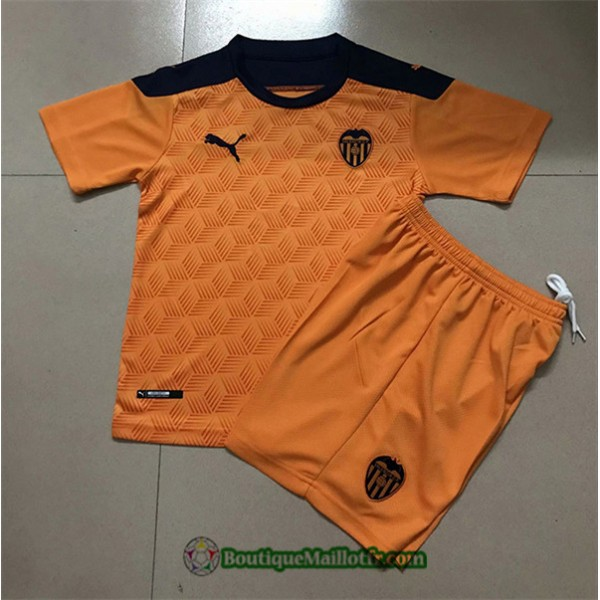 Maillot Valence Enfant 2020 2021 Orange