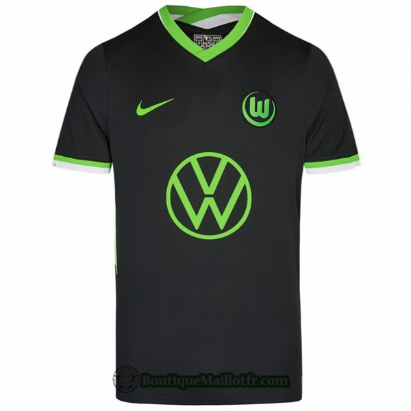 Maillot Vfl Wolfsburg 2020 2021 Exterieur