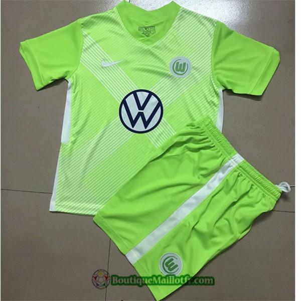 Maillot Vfl Wolfsburg Enfant 2020 2021 Domicile