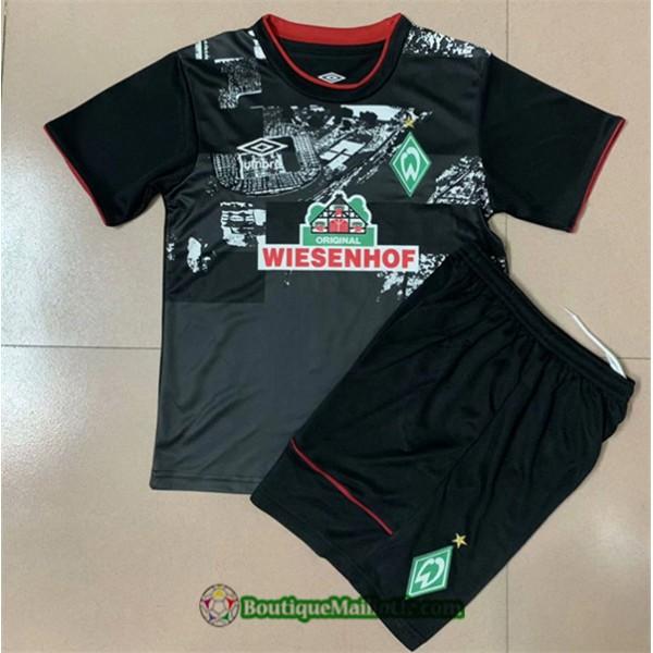 Maillot Werder Bremen Enfant 2020 2021 Domicile