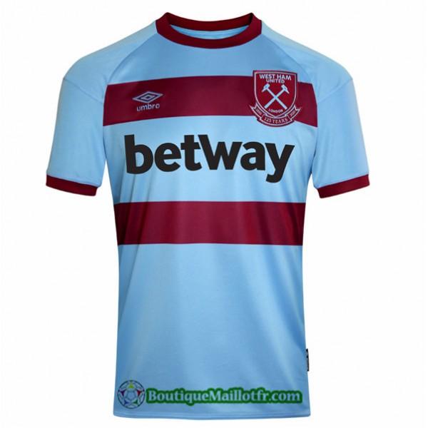Maillot West Ham United 2020 2021 Exterieur
