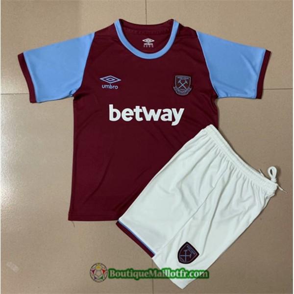 Maillot West Ham United Enfant 2020 2021 Domicile