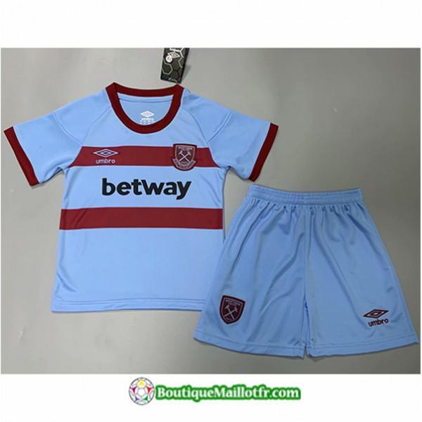 Maillot West Ham United Enfant 2020 2021 Exterieur