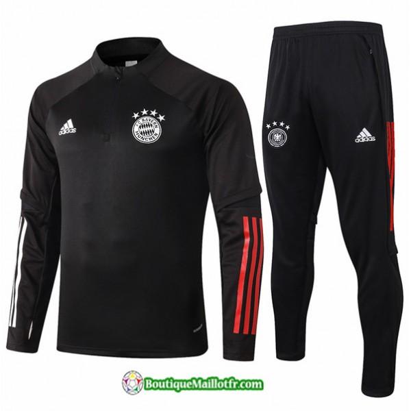 Survetement Bayern Munich 2020 2021 Noir