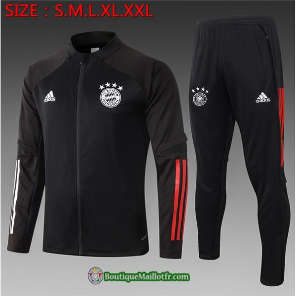 Survetement Bayern Munich Enfant 2020 2021 Noir