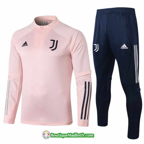Survetement Juventus 2020 2021 Rose