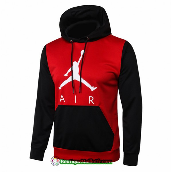 Sweat à Capuche Jordan 2020 2021 Rouge/noir