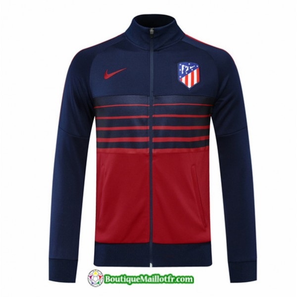 Veste Atletico Madrid 2020 2021 Bleu Marine/rouge
