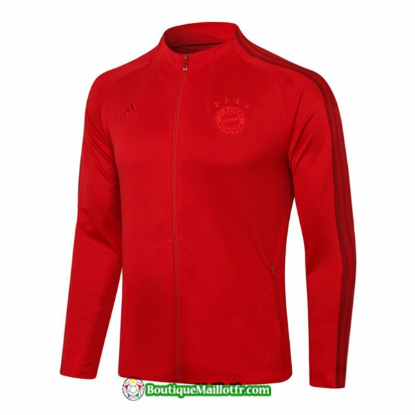 Veste Bayern Munich 2020 2021 Rouge