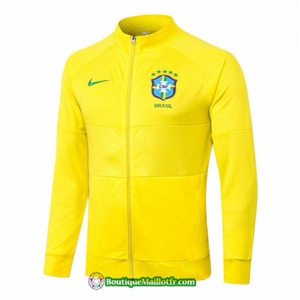 Veste Brésil 2020 2021 Jaune