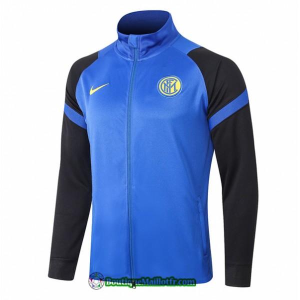 Veste Inter Milan 2020 2021 Bleu Bleu Marine