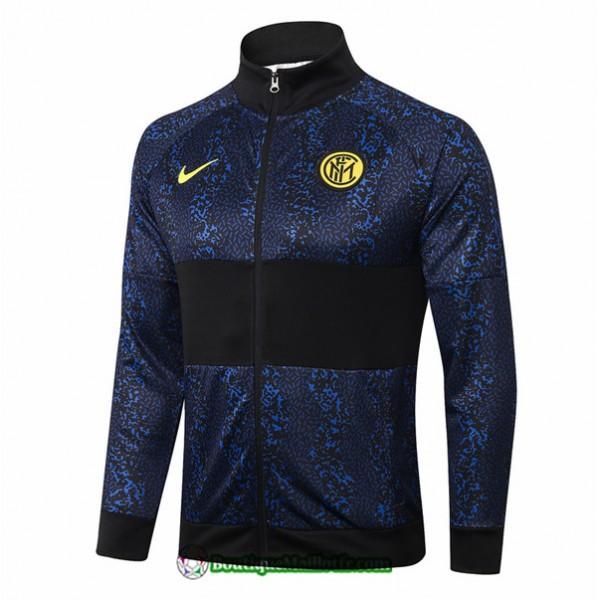 Veste Inter Milan 2020 2021 Bleu Marine/noir