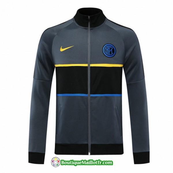 Veste Inter Milan 2020 2021 Gris