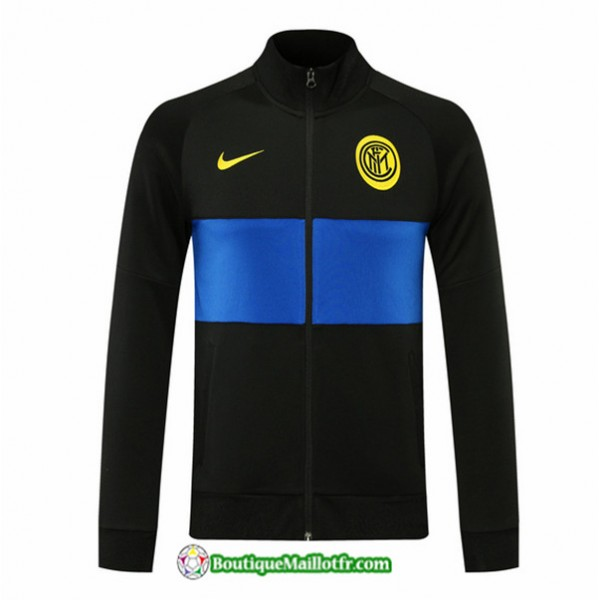 Veste Inter Milan 2020 2021 Noir