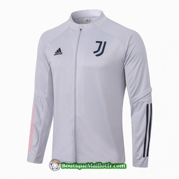 Veste Juventus 2020 2021 Gris Clair