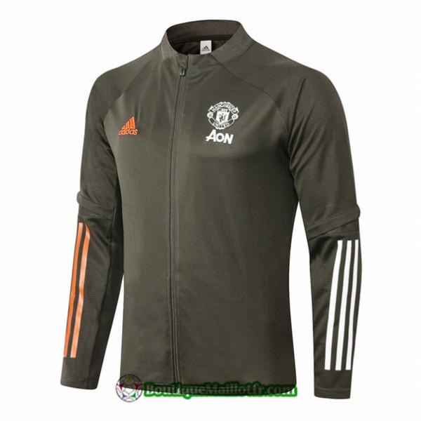 Veste Manchester United 2020 2021 Armee Verte