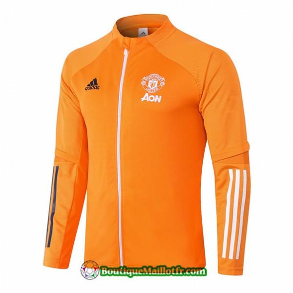 Veste Manchester United 2020 2021 Orange