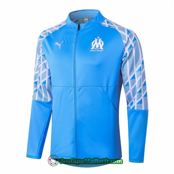 Veste Marseille 2020 2021 Bleu Clair