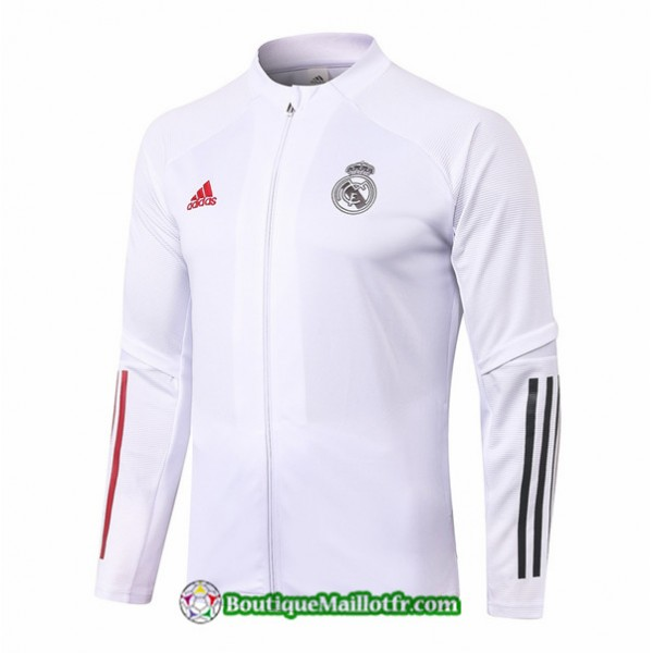 Veste Real Madrid 2020 2021 Blanc