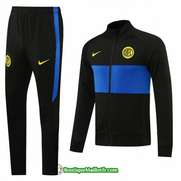 Veste Survetement Inter Milan 2020 2021 Noir