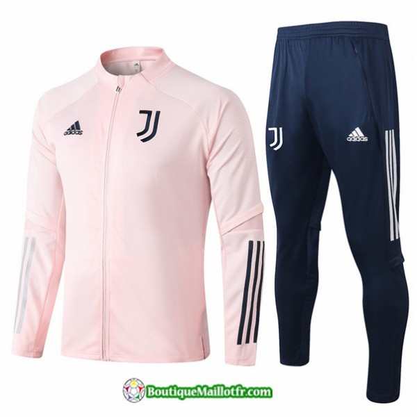 Veste Survetement Juventus 2020 2021 Rose