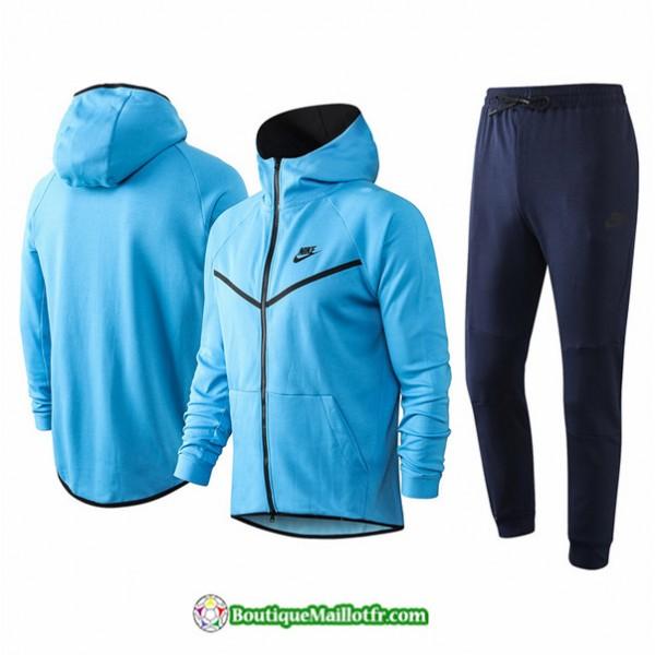 Veste Survetement Nike 2020 2021 à Capuche Bleu C...