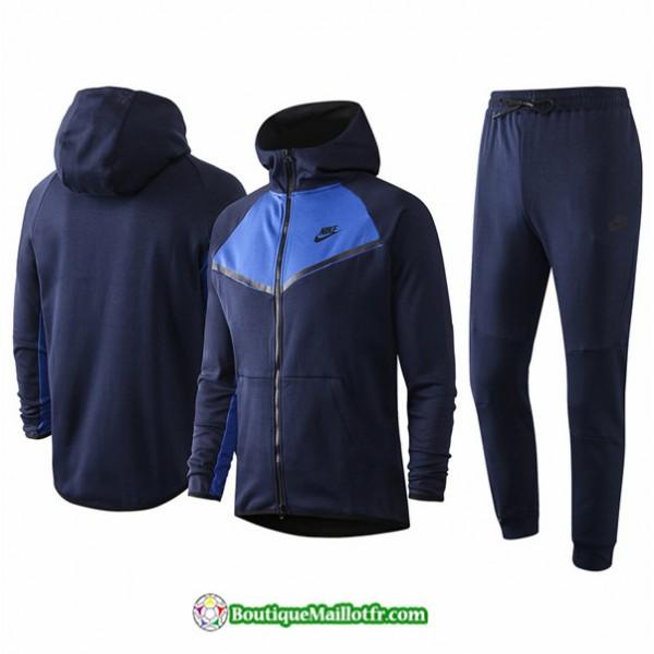 Veste Survetement Nike 2020 2021 à Capuche Bleu M...