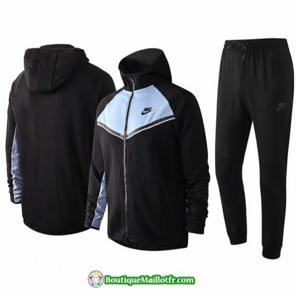 Veste Survetement Nike 2020 2021 à Capuche Noir/v...
