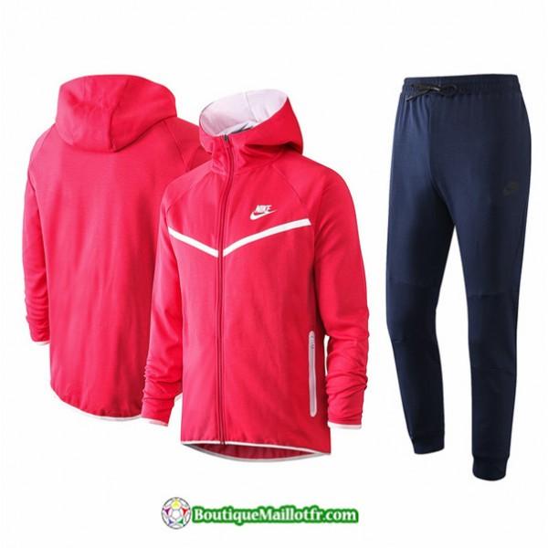 Veste Survetement Nike 2020 2021 à Capuche Rose