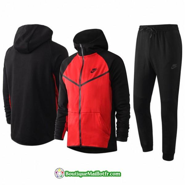 Veste Survetement Nike 2020 2021 à Capuche Rouge/...