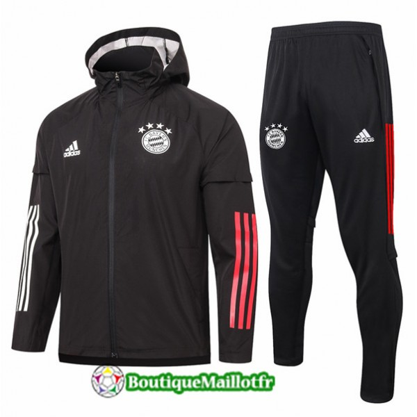 Coupe Vent Bayern Munich 2020 Noir