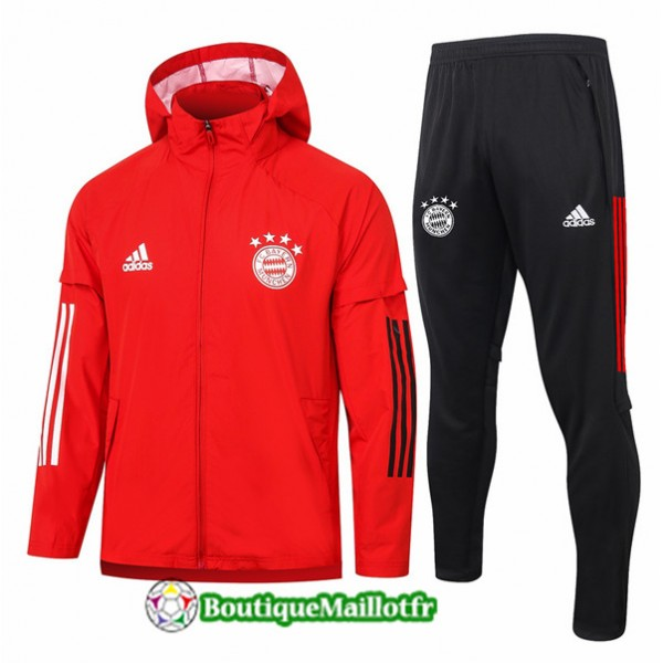Coupe Vent Bayern Munich 2020 Rouge