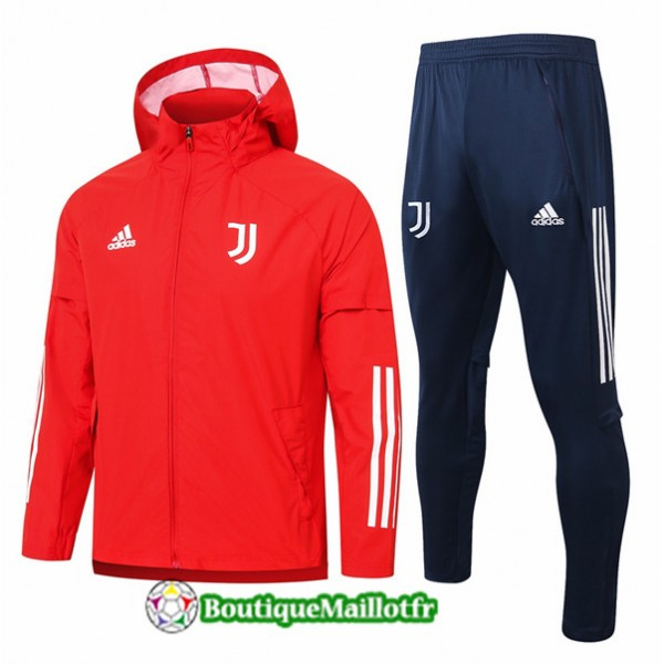 Coupe Vent Juventus 2020 Rouge