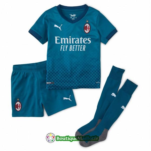 Maillot Ac Milan Enfant 2020 Third