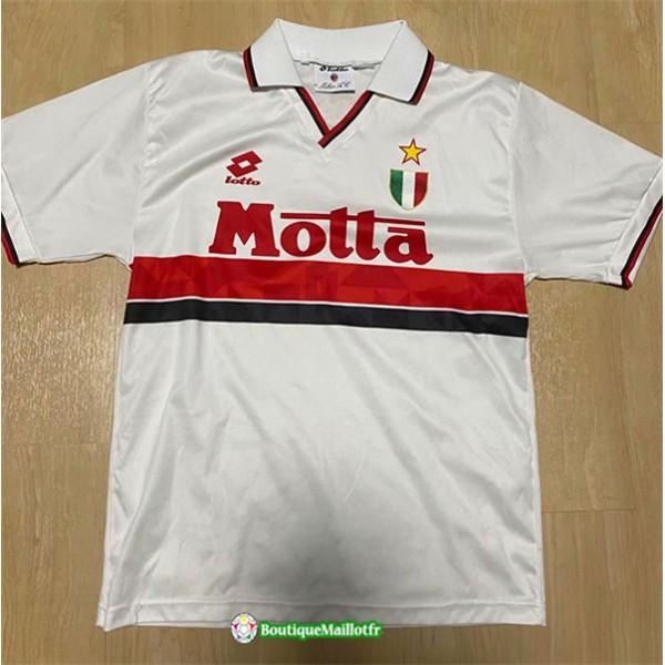 Maillot Ac Milan Retro 1992 94 Exterieur