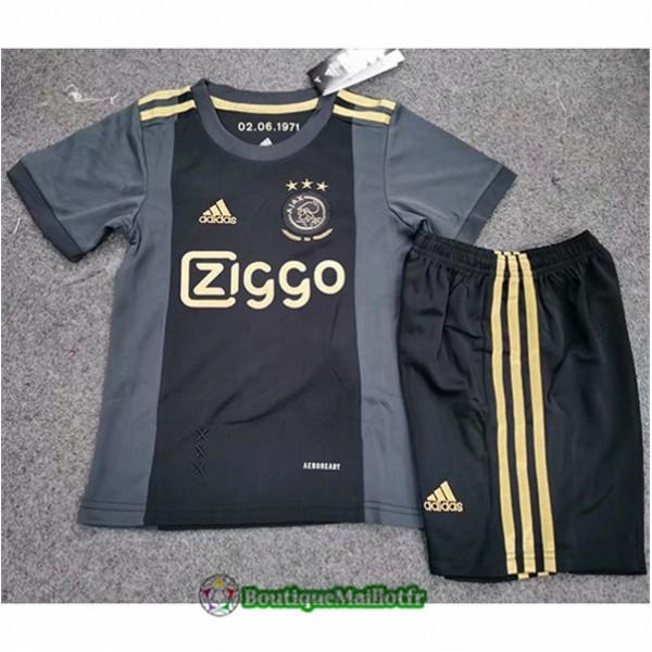 Maillot Ajax Enfant 2020 Third Noir