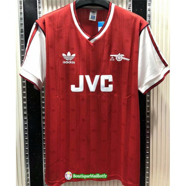 Maillot Arsenal Retro 1988 89 Domicile