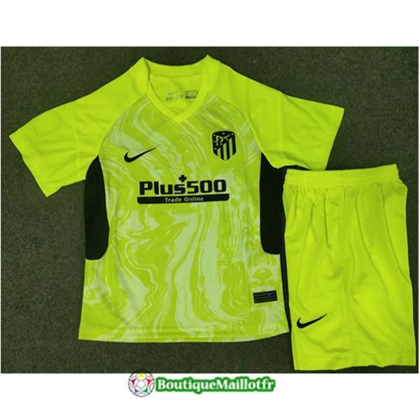 Maillot Atletico Madrid Enfant 2020 Third Vert