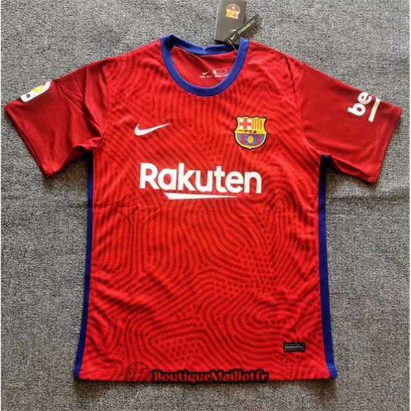 Maillot Barcelone 2020 Entrainement Rouge