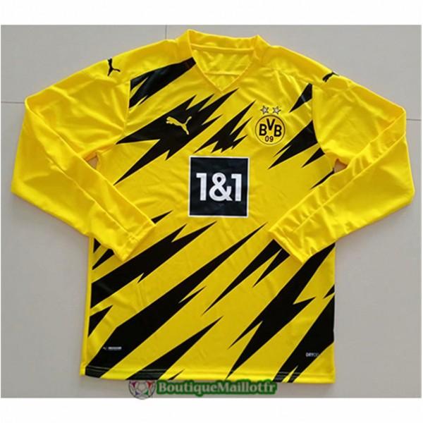 Maillot Borussia Dortmund 2020 Domicile Manche Lon...