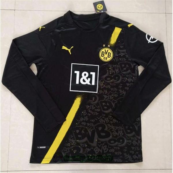 Maillot Borussia Dortmund 2020 Exterieur Manche Lo...