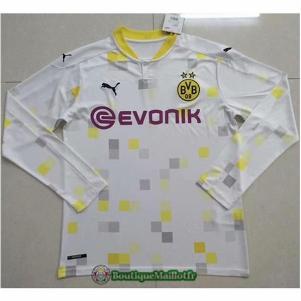 Maillot Borussia Dortmund 2020 Third Manche Longue