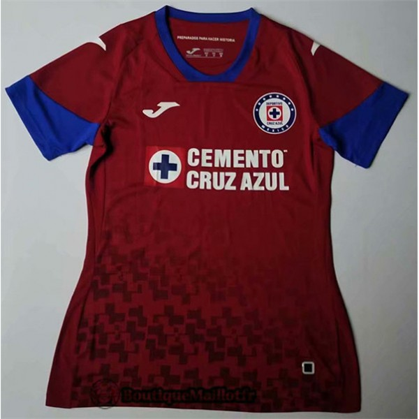 Maillot Cruz Azul Femme 2020 Third Rouge