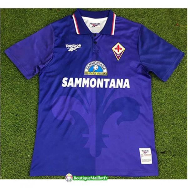Maillot Fiorentina Retro 1995 96 Domicile
