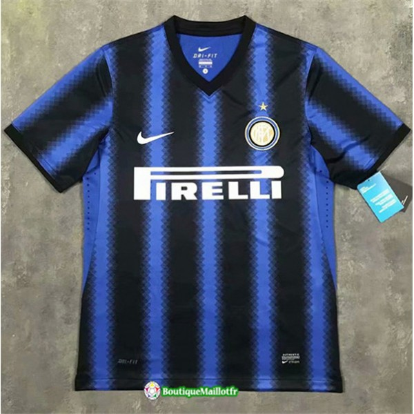 Maillot Inter Milan Short Retro 2010 11 Domicile