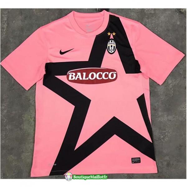 Maillot Juventus Retro 2011 2012 Rose
