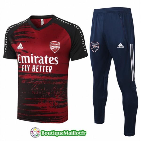 Maillot Kit Entraînement Arsenal 2020 Training Ro...