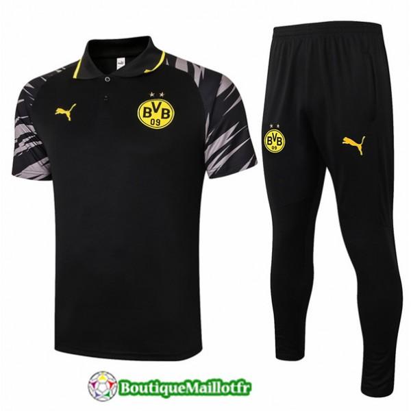 Maillot Kit Entraînement Borussia Dortmund Polo 2...