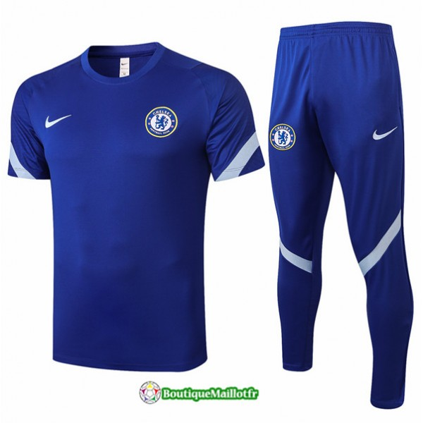 Maillot Kit Entraînement Chelsea 2020 Training Bl...