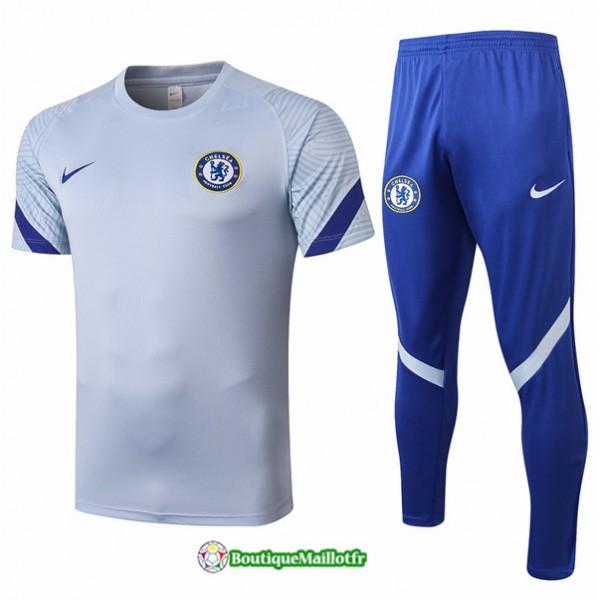 Maillot Kit Entraînement Chelsea 2020 Training Gr...